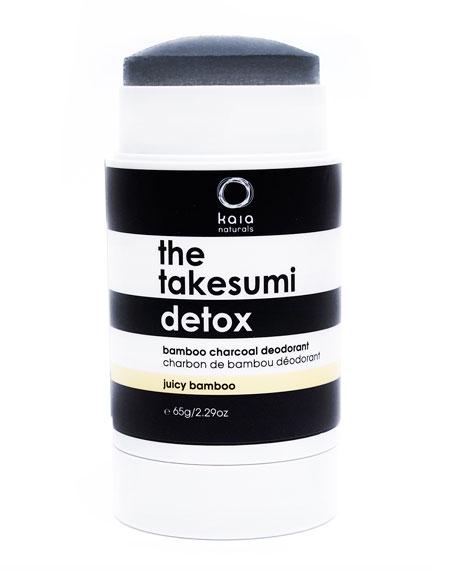 The Takesumi Detox Bamboo Charcoal Deodorant, 2.3 oz./ 65 g