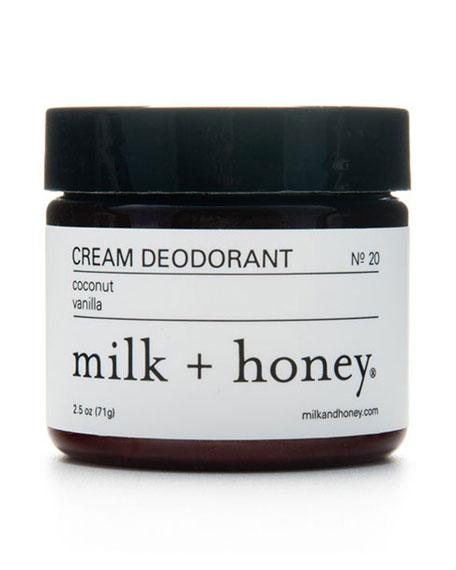 Cream Deodorant No. 20, 2.5 oz.