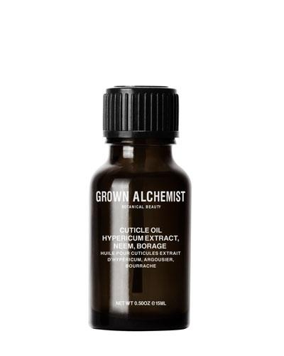 Cuticle Oil: Hypericum Extract, Neem, Borage, 0.5 oz./ 15 mL