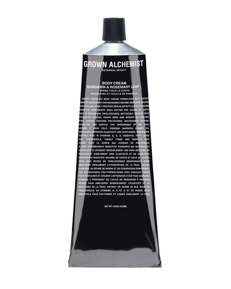 Grown Alchemist Body Cream (Tube) ?? Mandarin/Rosemary Leaf,