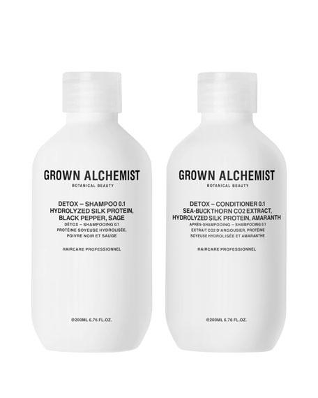 Detox Haircare Twinset, 2 x 6.7 oz./ 200 mL