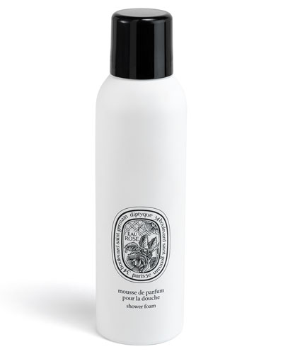 Eau Rose Shower Foam, 6.8 oz.