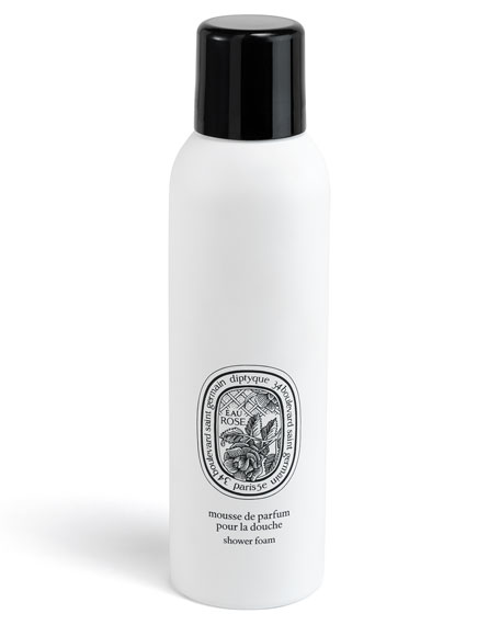 Diptyque Eau Rose Shower Foam, 6.8 oz.