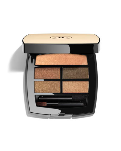 <b>LES BEIGES</b> <br>HEALTHY GLOW NATURAL EYESHADOW PALETTE