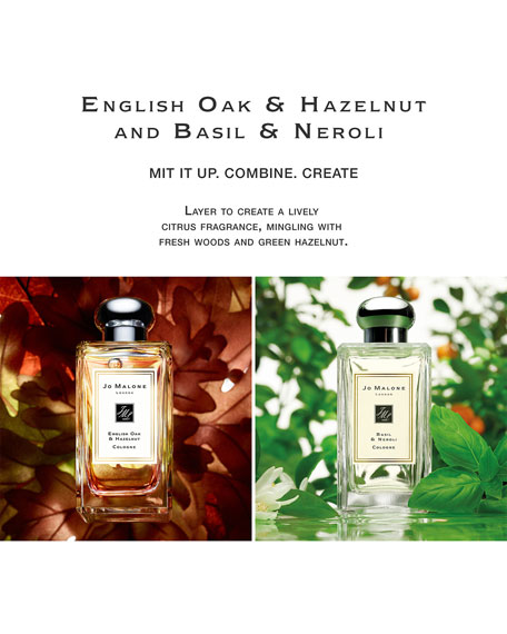 English Oak & Hazelnut Cologne, 1.0 oz./ 30 ml