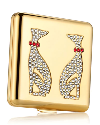 Limited Edition Year of the Dog Powder Compact by Monica Rich Kosann