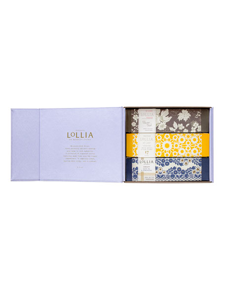 Lollia Travel Handcreme Set—In Love, At Last, Dream