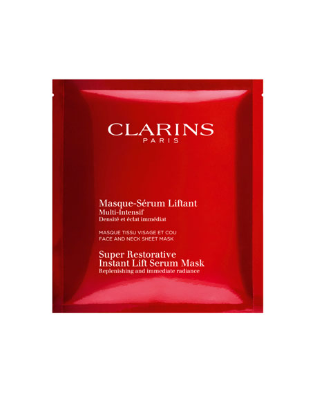 Clarins Super Restorative Instant Lift Serum Mask, 5