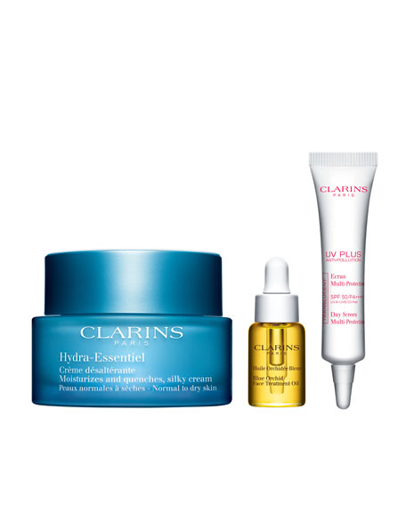 Clarins Limited Edition Hydra-Essential 24/7 Trio