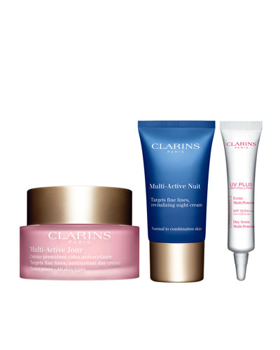 Limited Edition Clarins Multi-Active 24/7 Trio