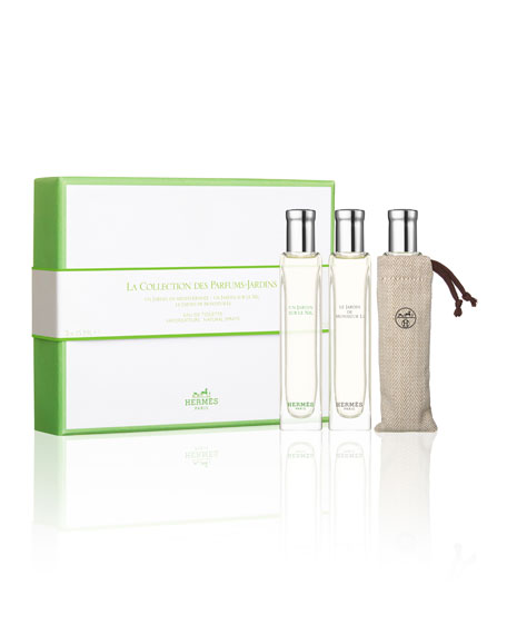 Garden-Perfumes Collection Travel Set