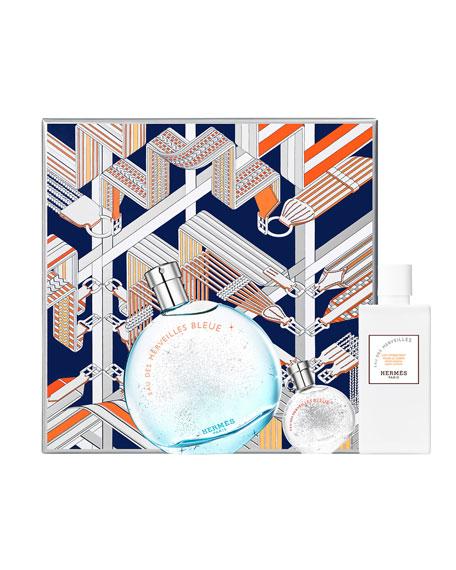 F&#234tes en Herm&#232s Eau des Merveilles Bleue Gift Set, Eau de Toilette
