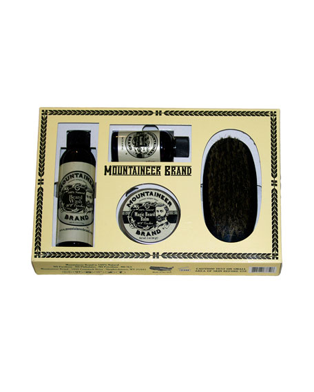 Mountaineer Brand Boxed Beard Kit - WV Timber