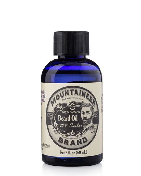 Mountaineer Brand Beard Oil - WV Timber, 2
