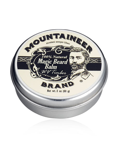 Magic Beard Balm - WV Timber, 2 oz./ 60 g