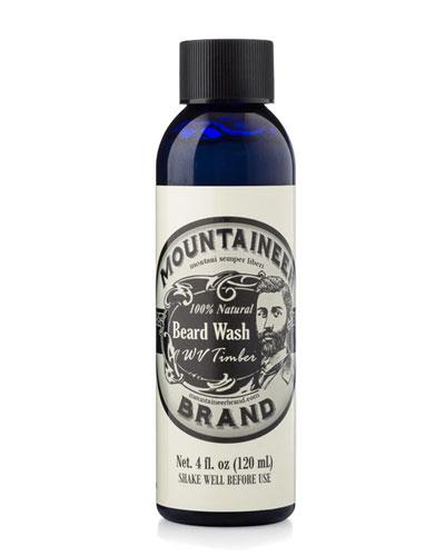 Beard Wash - WV Timber, 4 oz. / 120 ml