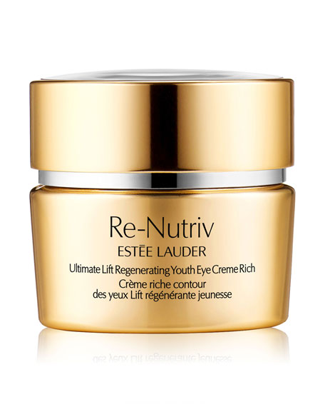 Re-Nutriv Ultimate Lift Regenerating Youth Eye Cr&#232me Rich, 0.5 oz./ 15 mL