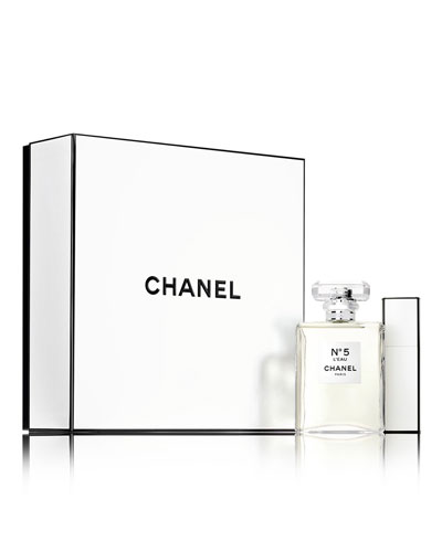 CHANEL N&#1765 EAU DE TOILETTE TWIST AND SPRAY SET
