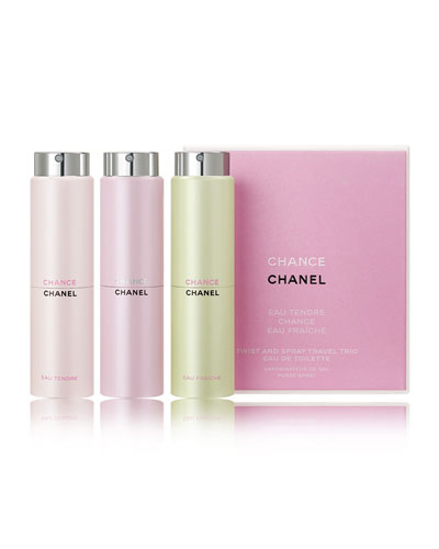 CHANEL CHANCE TWIST AND SPRAY TRAVEL TRIO