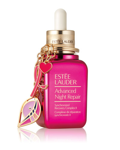 Advanced Night Repair with Pink Ribbon Keychain Limited Edition Collectible, 1.7 oz./ 50 mL