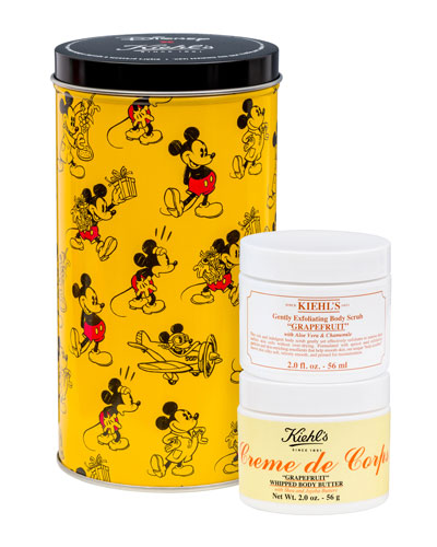 Special Edition Disney X Kiehl's Grapefruit Body Duo