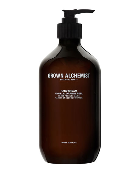 Grown Alchemist Hand Cream (LG) – Vanilla/Orange Peel,