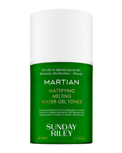 Martian Mattifying Melting Water-Gel Toner, 1.7 oz./ 50 mL