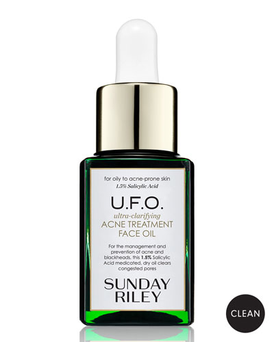 U.F.O. Ultra-Clarifying Acne Treatment Face Oil, 0.5 oz./ 15 mL