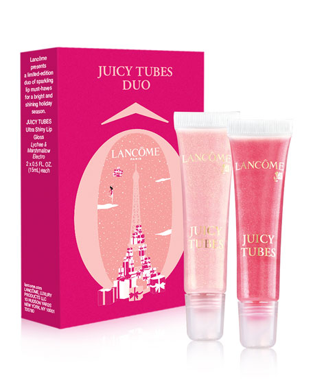 Lancome Juicy Tubes Duo Holiday Collection