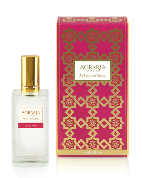 Agraria Cedar Rose Room Spray, 3.4 oz./ 100