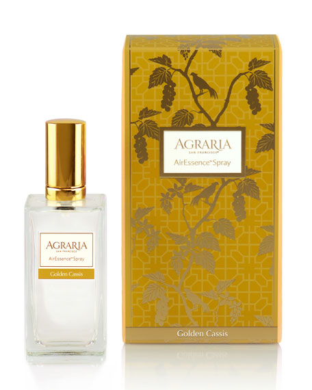 Agraria Golden Cassis Room Spray, 3.4 oz./ 100