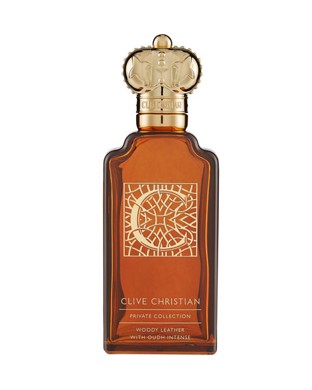 Private Collection C Woody Leather Masculine, 3.4 oz./ 100 mL