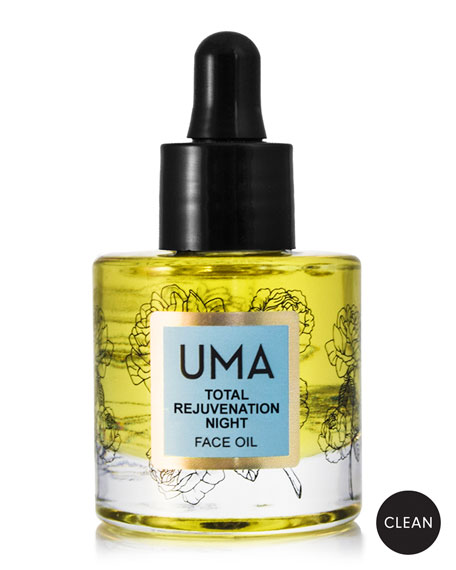 UMA Oils Total Rejuvenation Night Face Oil, 1.0