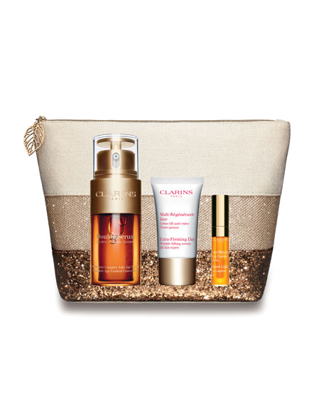 Clarins Limited Edition Extra Firming Double Serum Set
