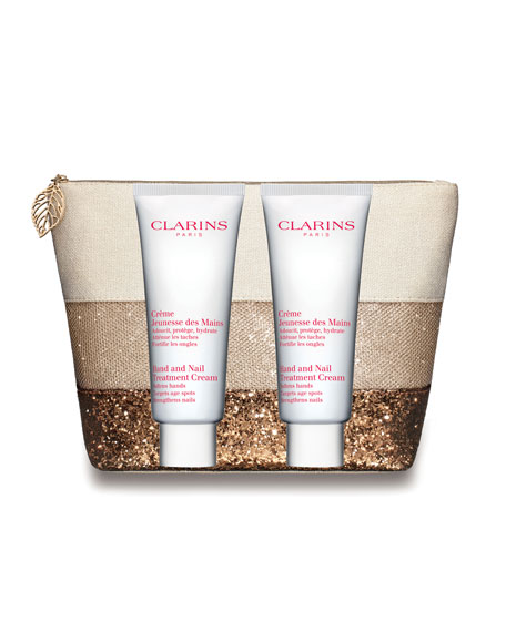 Clarins Limited Edition Hand and Nail Double Edition
