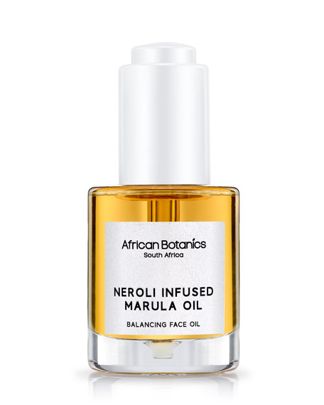 African Botanics Neroli Infused Marula Oil, 1.0 oz./