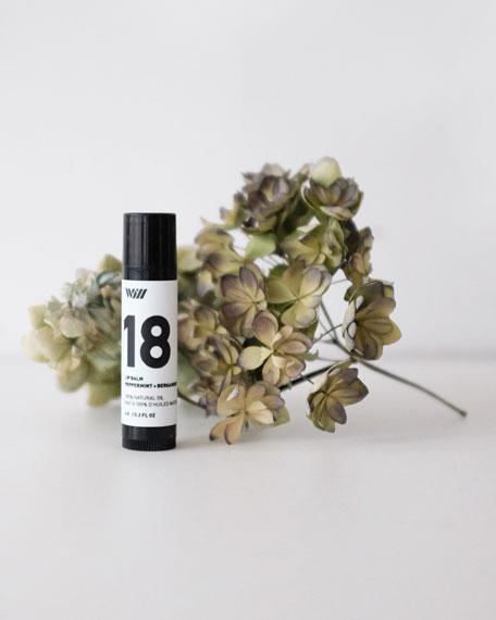 18 Peppermint + Bergamot Lip Balm, 0.2 oz./ 5.9 mL