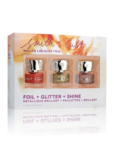 Nailed Lacquer Trio
