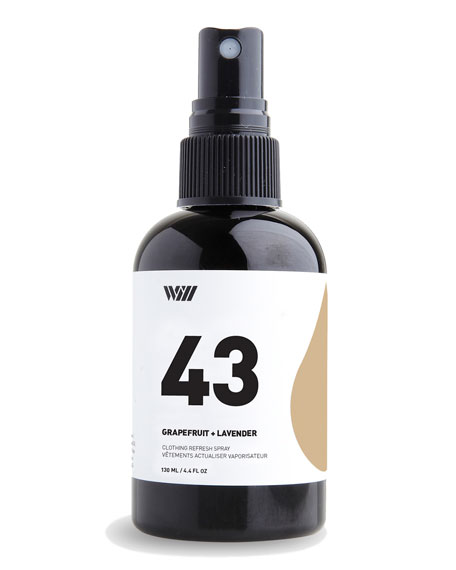 43 Clothing Refresh Spray, 4.4 oz./ 130 mL