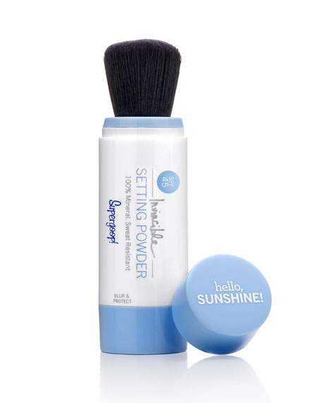 Supergoop! Invincible Setting Powder SPF 45, 0.09 oz./