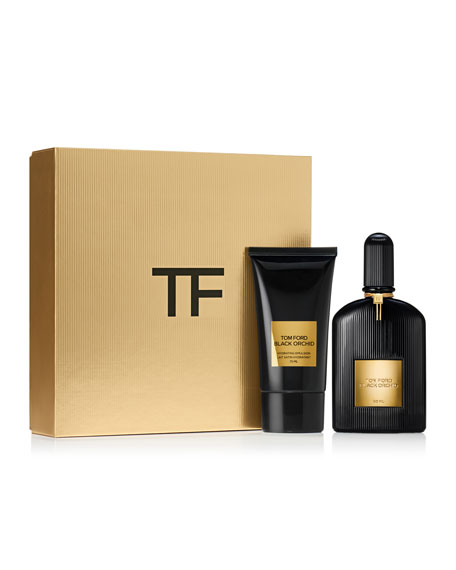 Tom Ford Black Orchid EDP and Hydrating Emulsion Set, 1.7 oz./ 50 mL