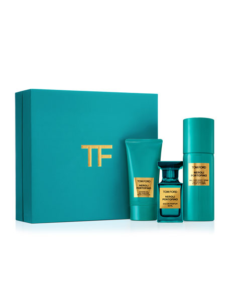 TOM FORD PRIVATE BLEND NEROLI PORTOFINO 3 PIECE