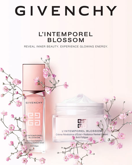 L'Intemporel Blossom Beautifying Radiance & Anti-Fatigue Serum, 1.0 oz./ 30 mL