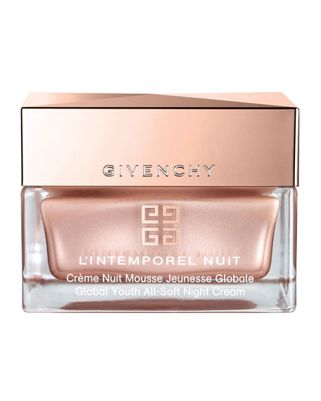 Givenchy L'Intemporel Global Youth All-Soft Night Cream, 1.7