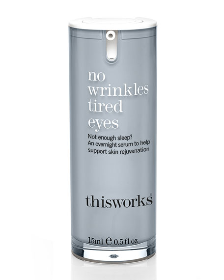 No Wrinkles Tired Eyes, 0.5 oz./ 15 mL