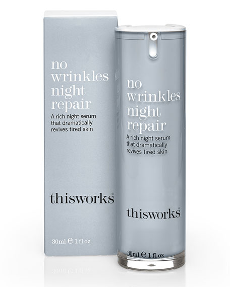 No Wrinkles Night Repair, 1.0 oz./ 30 mL