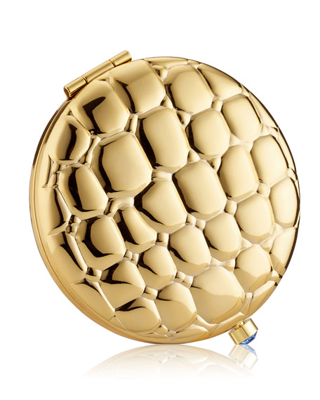 Estee Lauder Limited Edition Golden Alligator Compact 50th