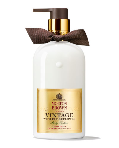 Vintage with Elderflower Body Lotion, 10 oz./ 300 mL