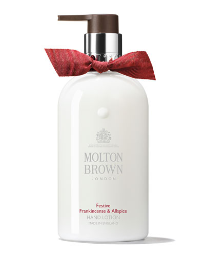 Festive Frankincense & Allspice Hand Lotion, 300ml/10 oz.