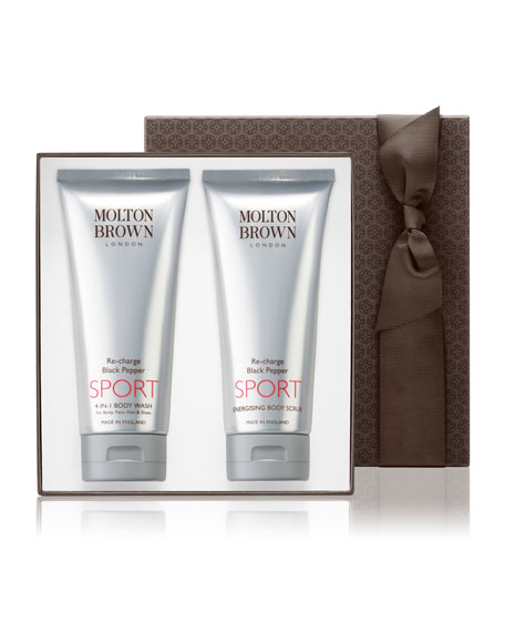Molton Brown Re-charge Black Pepper SPORT Gift Set